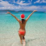 cruise-informatie.nl kerst op het strand